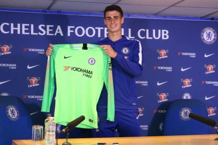 Chelsea sign Kepa Arrizabalaga with transfer fees of £71.6m