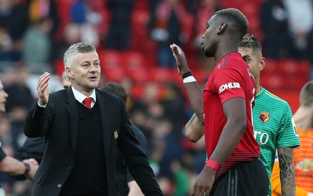 Image result for pogba and ole