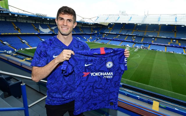 Christian Pulisic: 'Eden Hazard is fantastic, we all know that - but I'm  coming to Chelsea to be my own player'