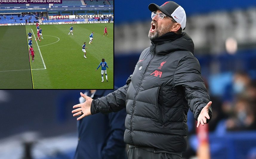 Furious Jurgen Klopp accuses VAR of costing Liverpool victory in Merseyside  derby: 'It's getting harder to take'