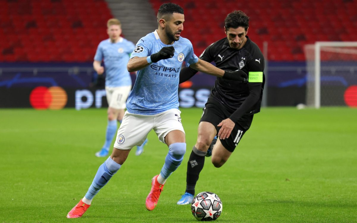 Regardless of whether Man City have won or not Mahrez will go home frustrated If he hasn't dribbled with the ball or made a break