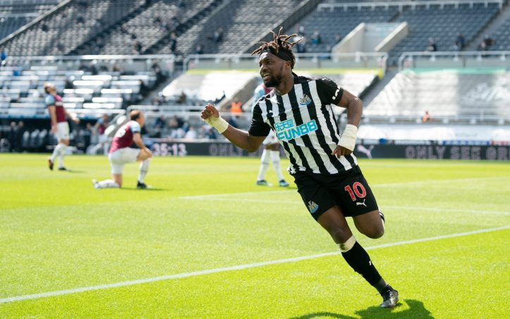 Allan Saint-Maximin will be hoping for a repeat performance against the Hammers | Premier League Matchday 1