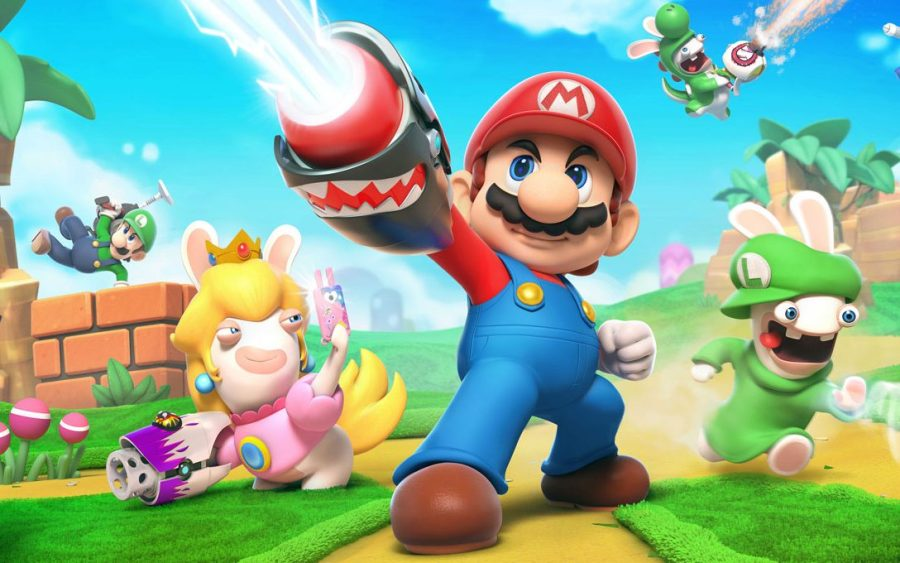 Mario   Rabbids Kingdom Battle looks like the crazy cartoon strategy     Mario   Rabbids
