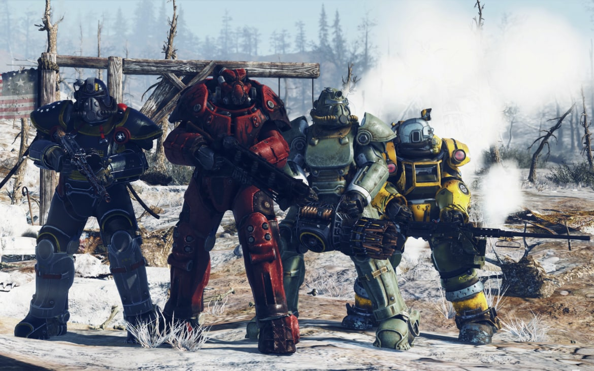 Fallout 76 Release Date Beta And Everything You Need To Know Before You Don Your Power Armour