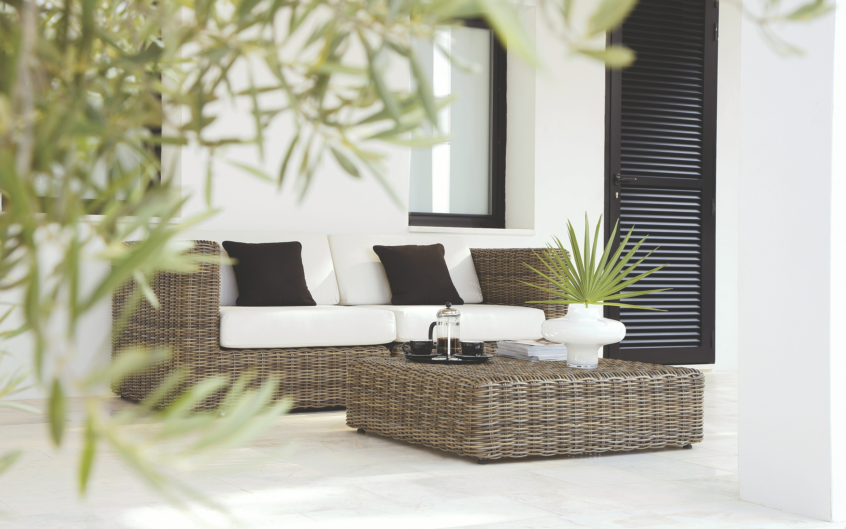 Getting your garden furniture right with rattan   The Telegraph Havana modular seating collection by Gloster  frontgate com
