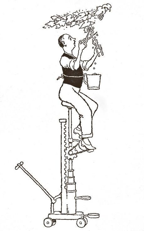 Image result for heath Robinson gardening