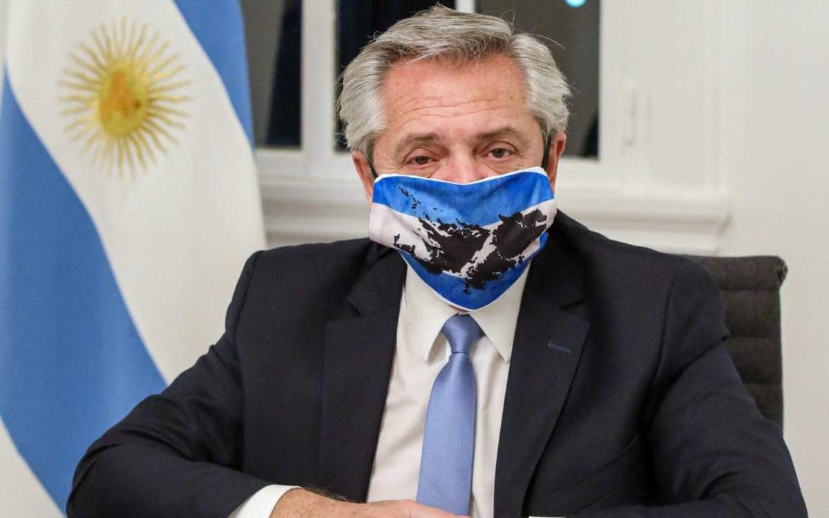 Argentina's president is dealing with his own case of the virus