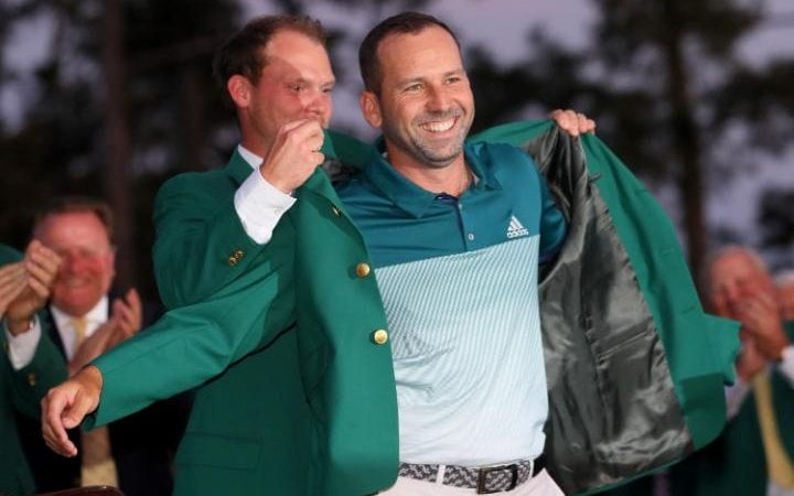 Image result for masters 2017 sergio garcia