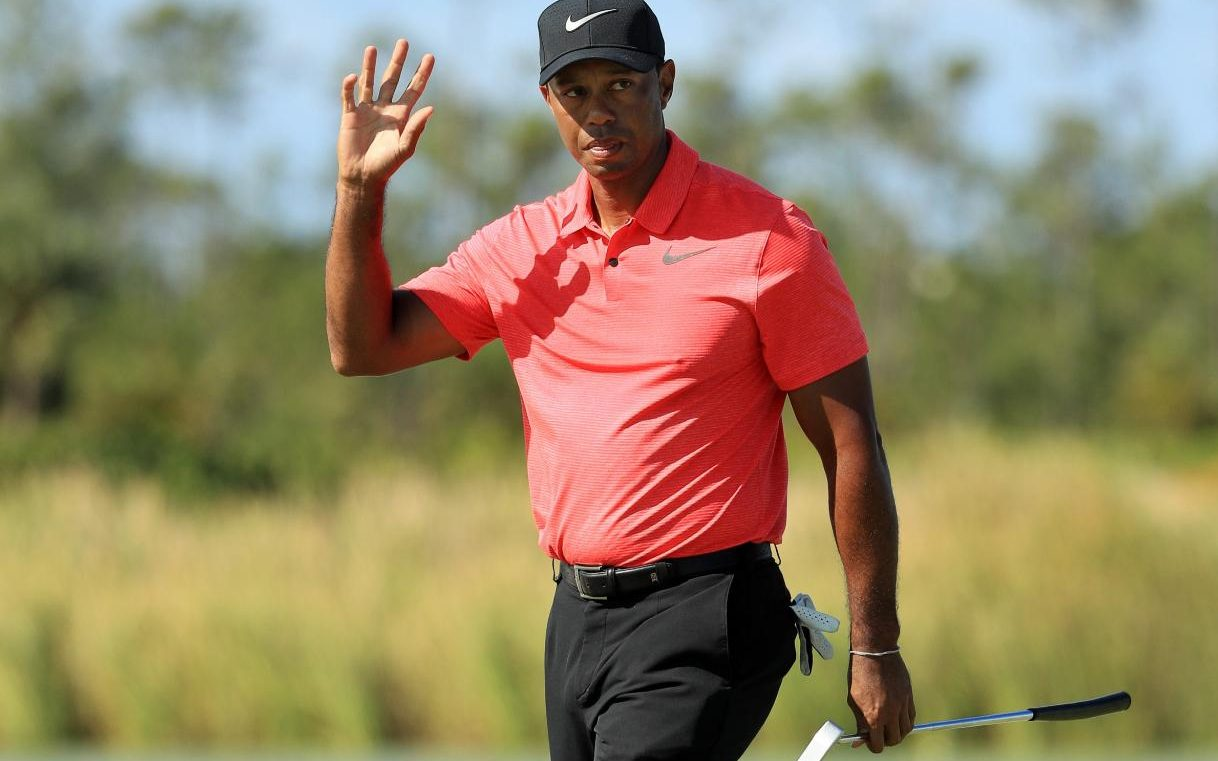 Tiger Woods Hoping For Bright Future After His Hero