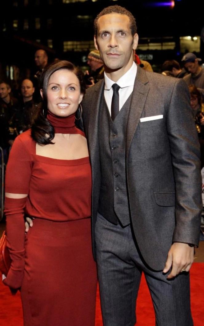Rio Ferdinand, Rebecca Ellison