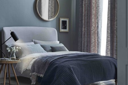 Can interior design cure insomnia  How to transform your bedroom     Calming colours and a cocooning headboard from the Croft Collection at John  Lewis