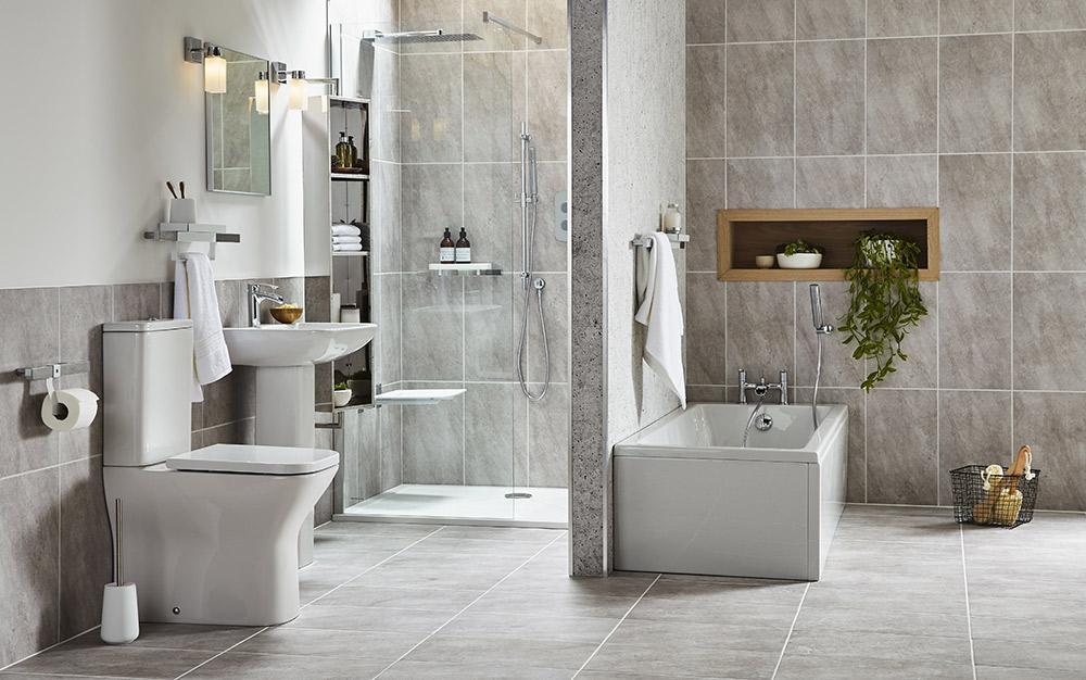 Bathroom Makeover An Easy Redesign