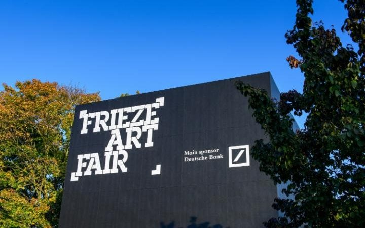 Frieze London and Frieze Masters in staged in Regent's Park in central London