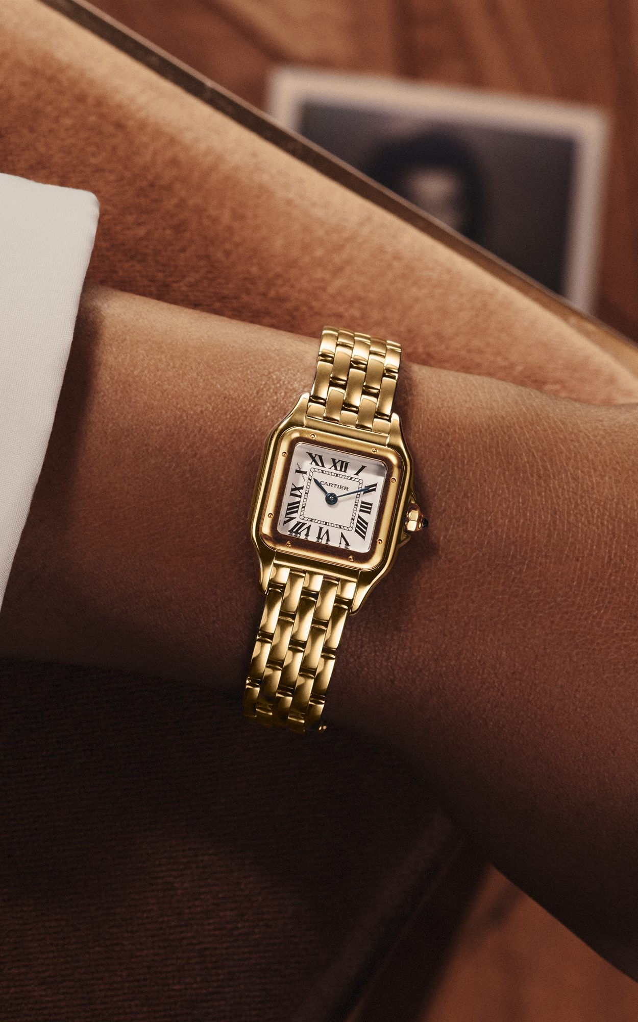 The new Panthere de Cartier is available to buy at Net a Porter from     The relaunched Panthere de Cartier watch will be available on Net a Porter