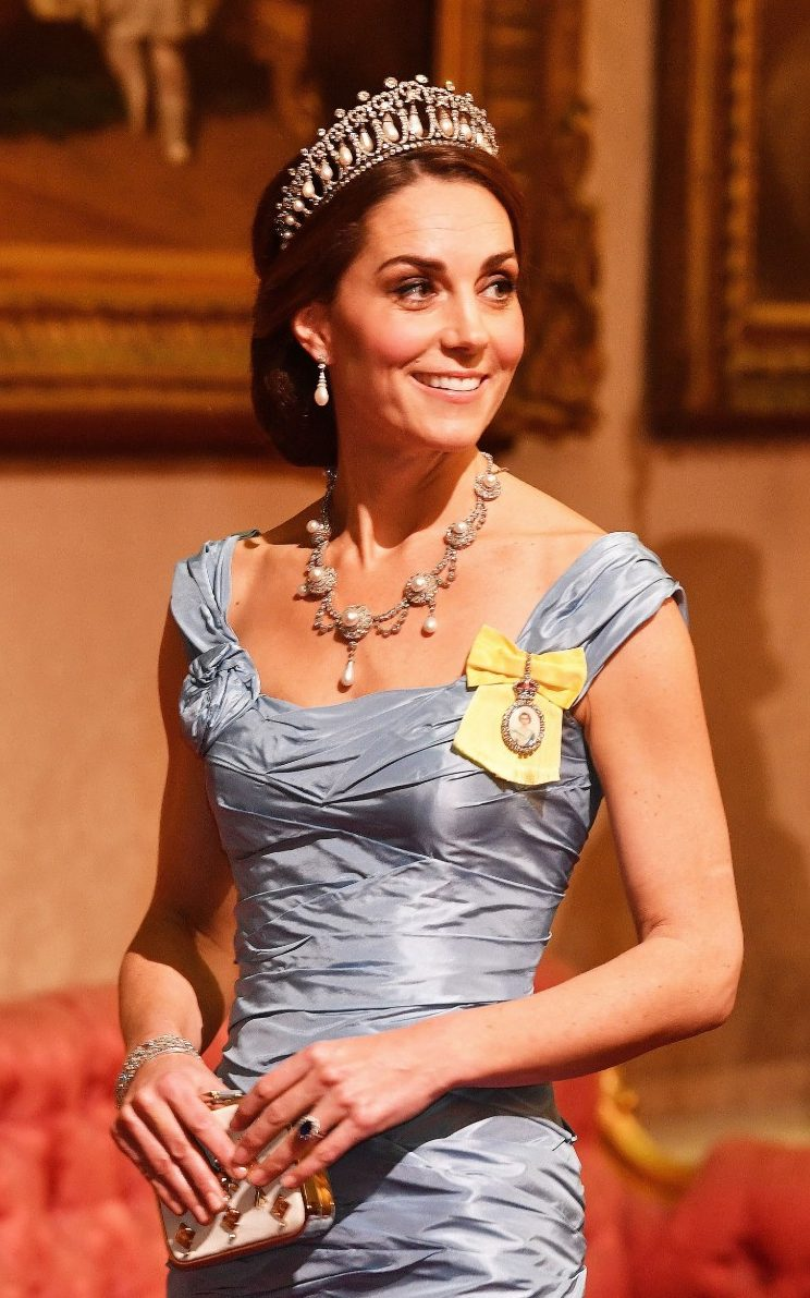 The Story Behind The Duchess Of Cambridges State Banquet