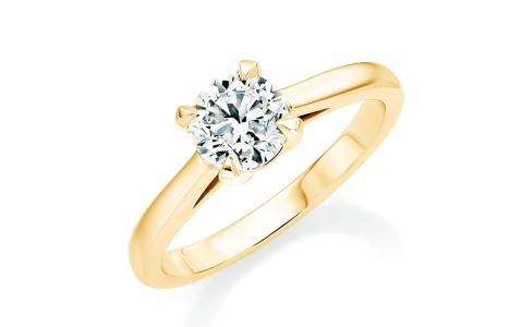 The Belvedere engagement ring by Mappin & Webb