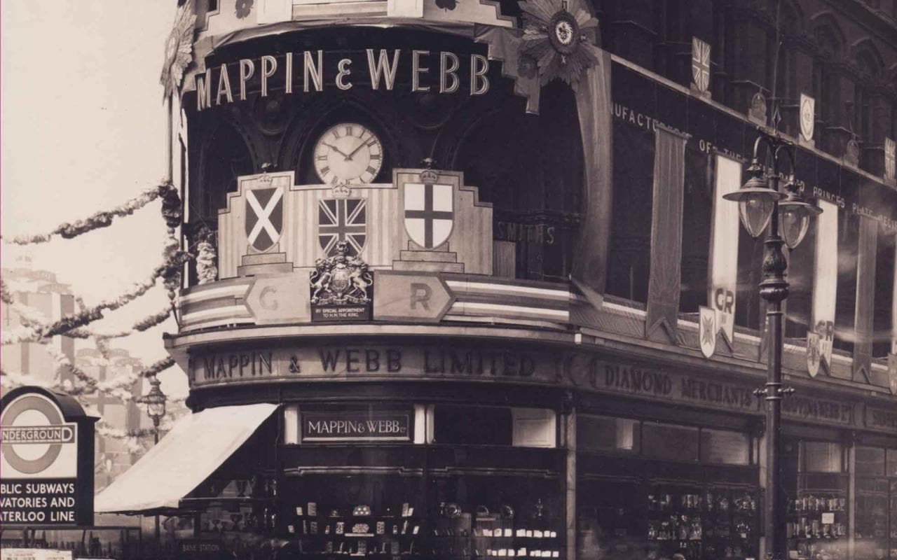 Timeline Mappin Amp Webb Through The Ages