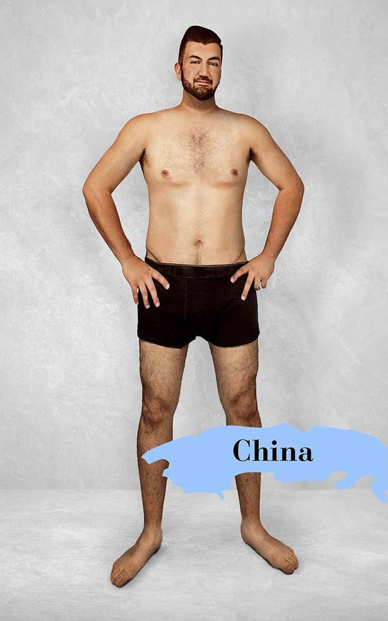 China Revealed How The Ideal Male Body Changes Around