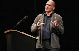 Yanis Varoufakis at the launch of Democracy in Europe Movement 2025