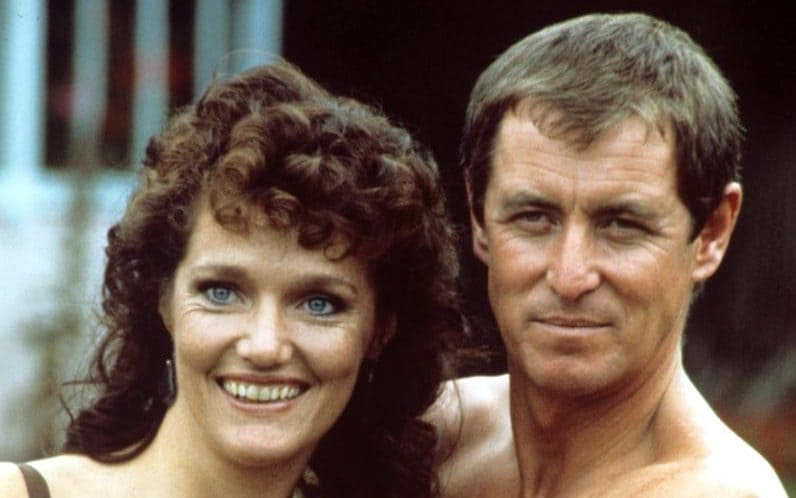 Louise Jameson and John Nettles in Bergerac