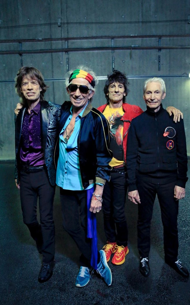 The Rolling Stones are 'the world's greatest and longest serving rock band'
