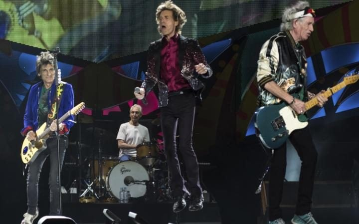 Evergreen: The Rolling Stones perform in Cuba earlier this year
