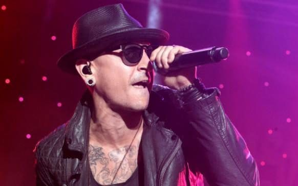 Chester Bennington performs in concert during the 2015 Shindig Music Festival