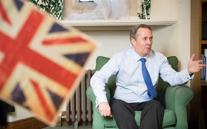 Liam Fox served as Mr Cameorn's defence secretary during the Coalition