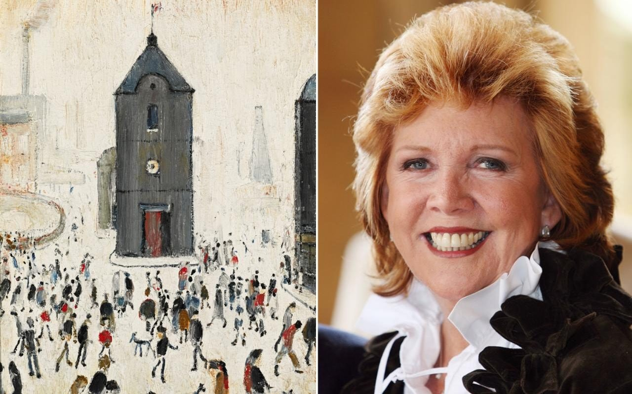Cilla Black S Collection Of Ls Lowry Paintings To Be Sold
