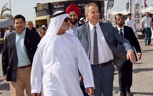 Tony Blair in Abu Dhabi