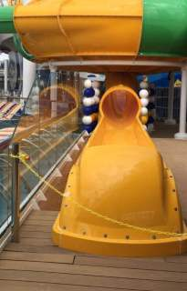 Rides closed on Harmony of the Seas