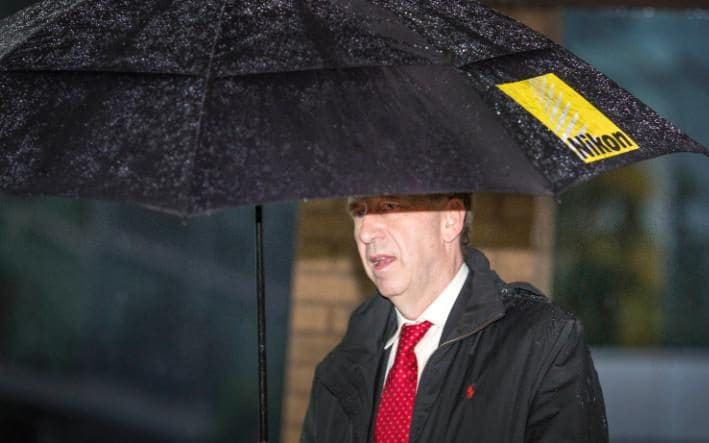 Patrick Rock, pictured arriving at Southwark crown court today