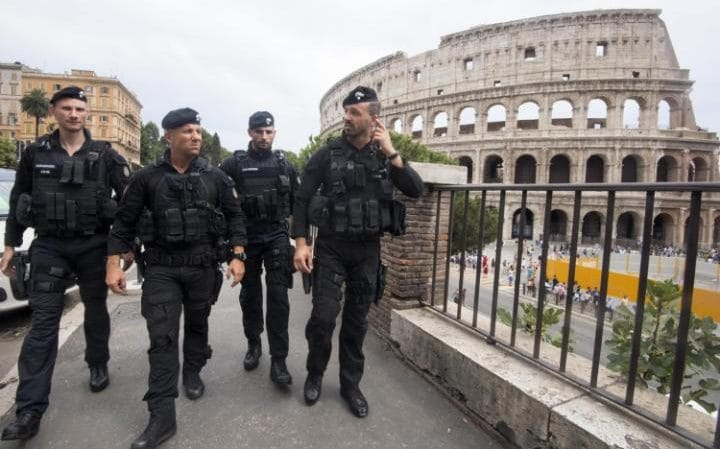 There are increasing fears of a terrorist attack in Italy of the kind that have hit France and Belgium. Security around potential targets such as the Colosseum in Rome has been increased.