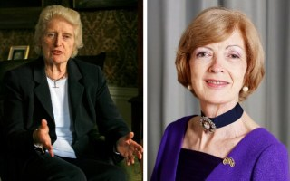 Baroness Butler-Sloss and Fiona Woolf