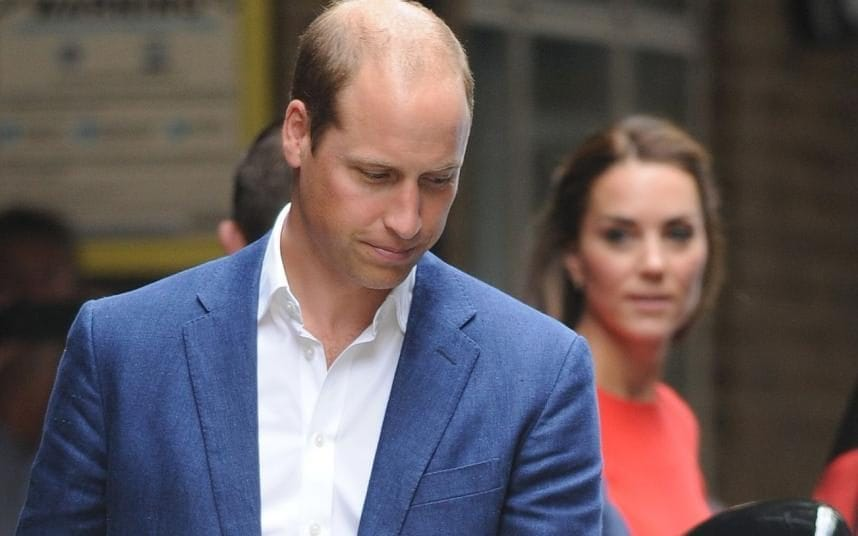 Prince William fears he will be 'in floods of tears' on ...