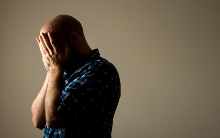 Between a third and a half of veterans are thought to suffer from PTSD