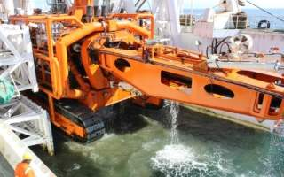 Five specially-adapted ships fitted with giant tractors and drills between them mine more than one million carats a year