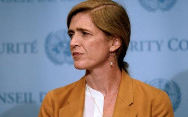 US Ambassador Samantha Power