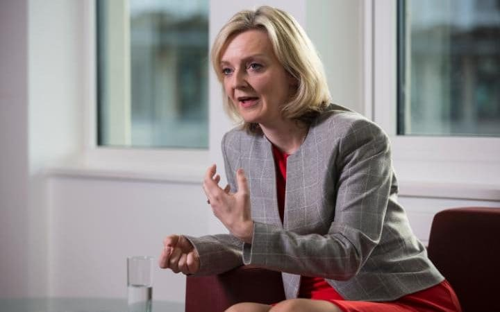 Liz Truss, the Justice Secretary