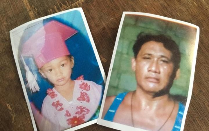 Danica Mae and her grandfather Maximo Garcia. Danica was killed in an attempt on Maximo's life