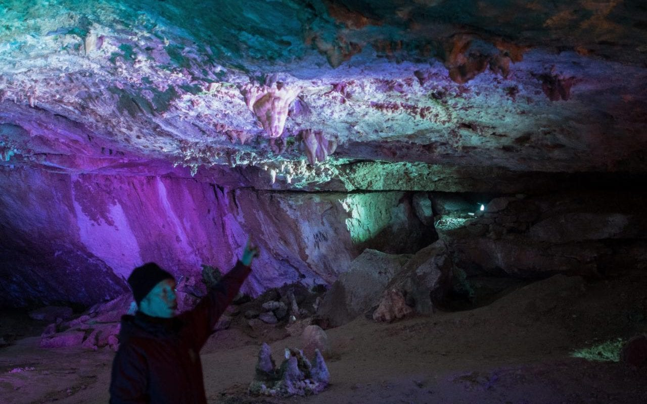 Inside The Incredible Underground Ice Cave Where Humans