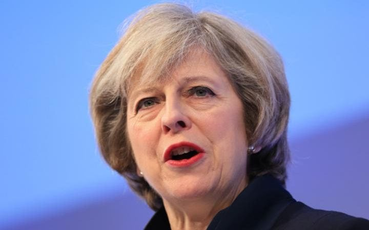 Theresa May recently told MPs that Christians should feel able to talk about their faith in the workplace