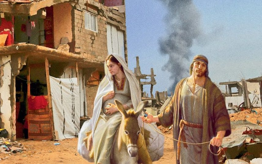 Charity Christmas Cards Combine Nativity Scenes With