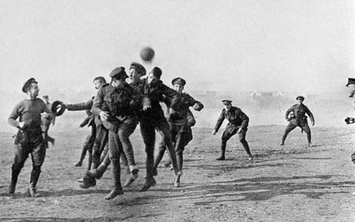 Image result for world war football