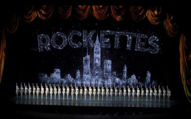 "The Rockettes performing ""Curtain Call"" during the 2016 New York Spectacular at Radio City Music Hall in New York"