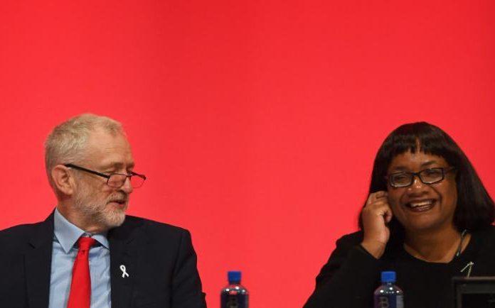 Jeremy Corbyn and Diane Abbott