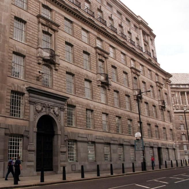 MI5's offices in central London Credit:  Neil Munns/PA