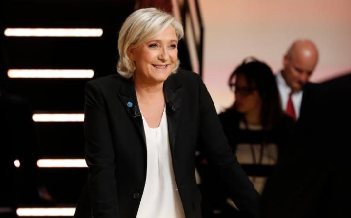 "Marine Le Pen was accused of being a ""serial killer"" of the French economy"