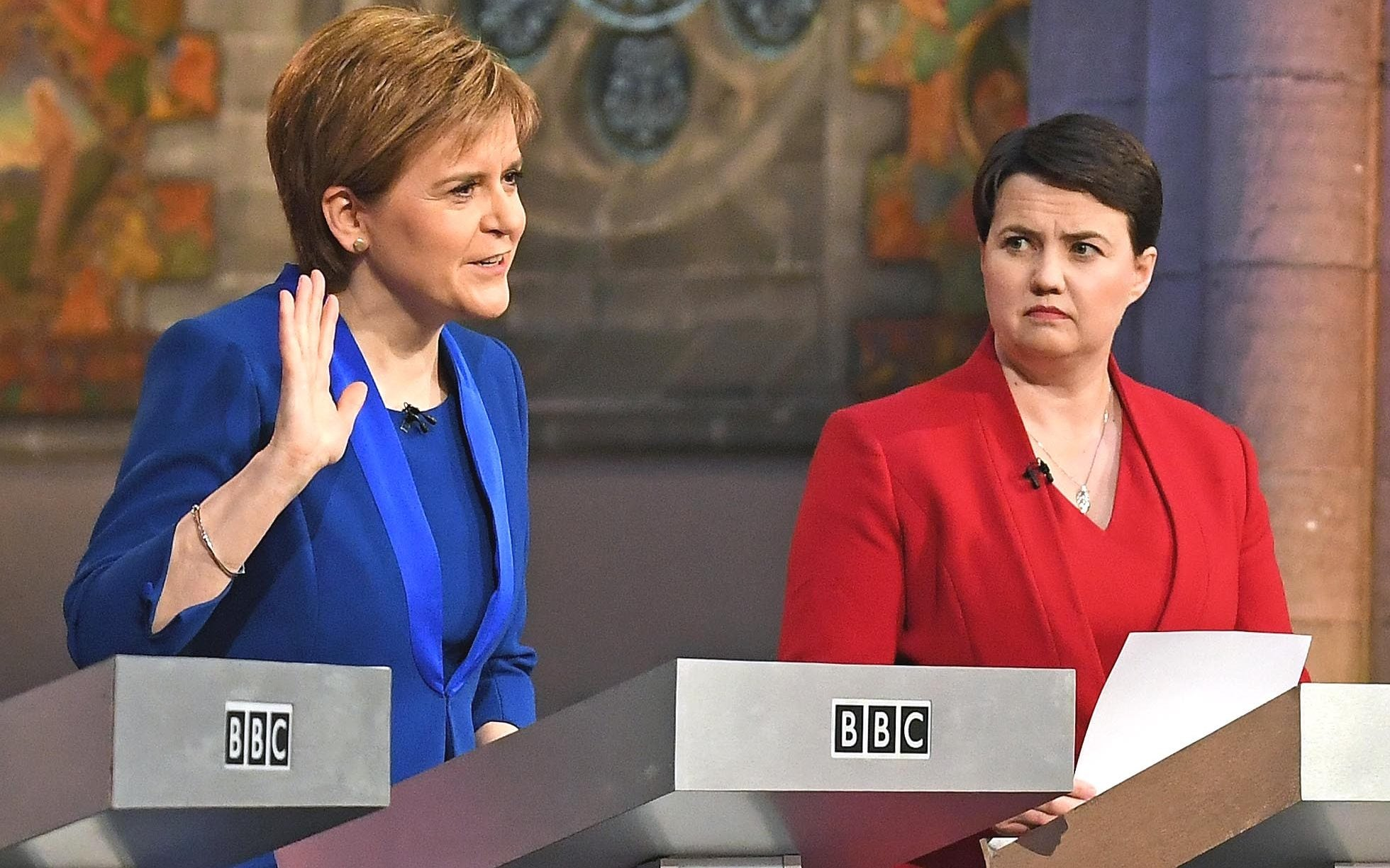 "Ruth Davidson plans to put the constitution to one side and focus on ""bread-and-butter"" issues"