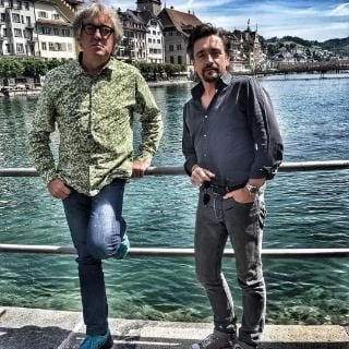 Richard Hammond with co-star James May